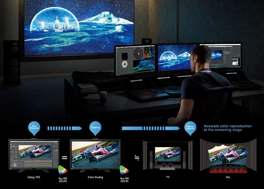 Photo of BenQ lansează două monitoare profesionale 4K și QHD, special create pentru post-producție video