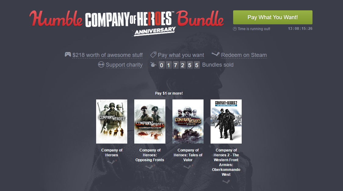 Photo of Company of Heroes împlinește 10 ani și ajunge la Humble Bundle