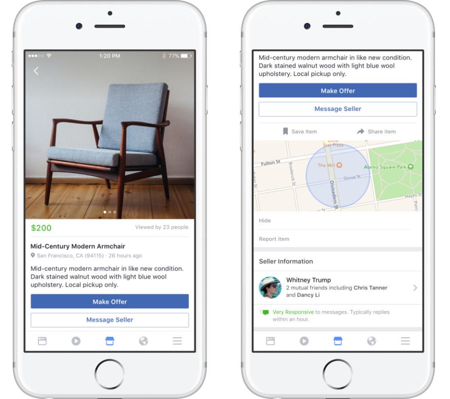 Photo of Facebook devine OLX cu propria sa piață