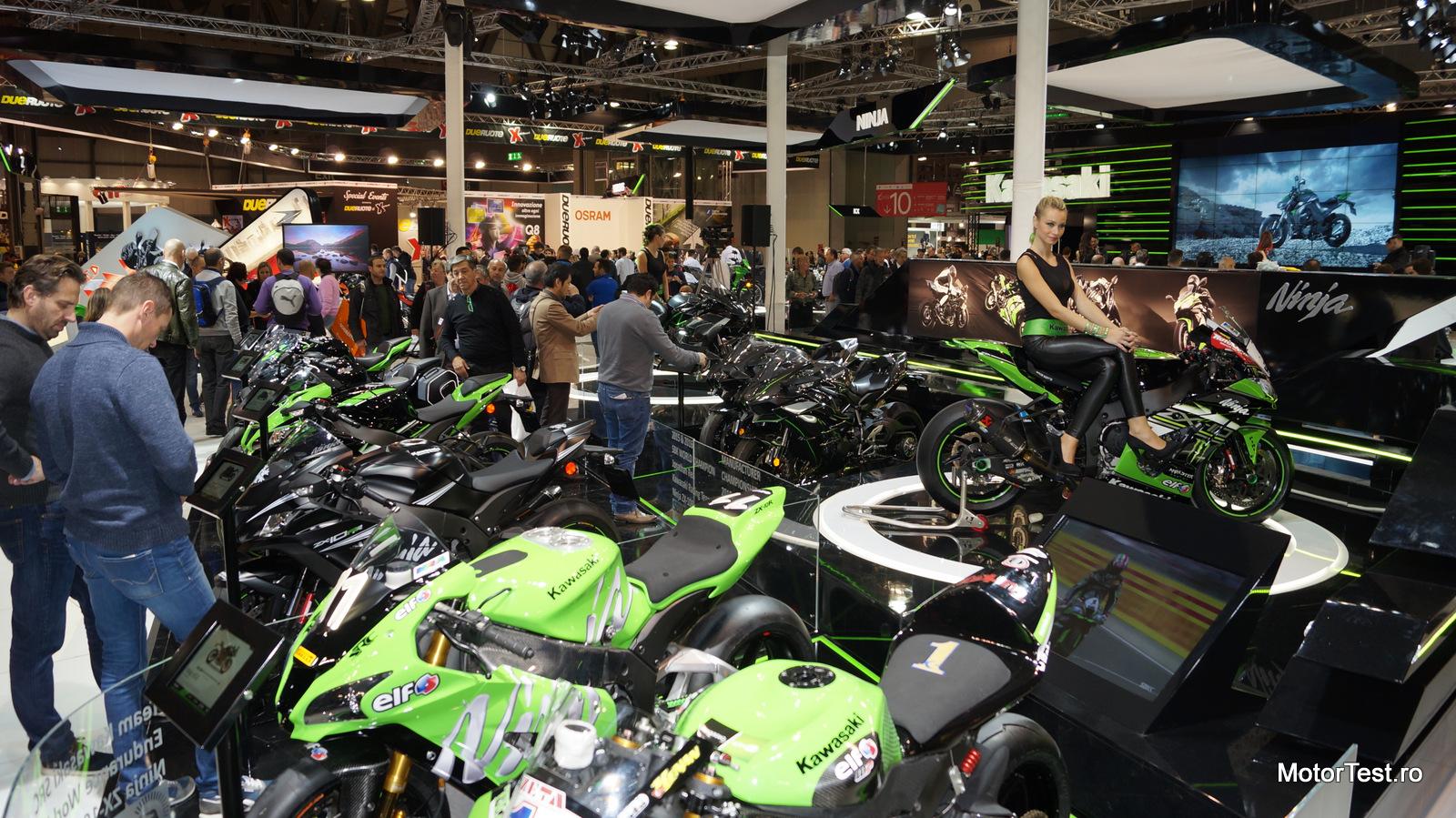 Photo of Salonul moto de la Milano 2016 în imagini – galerie foto