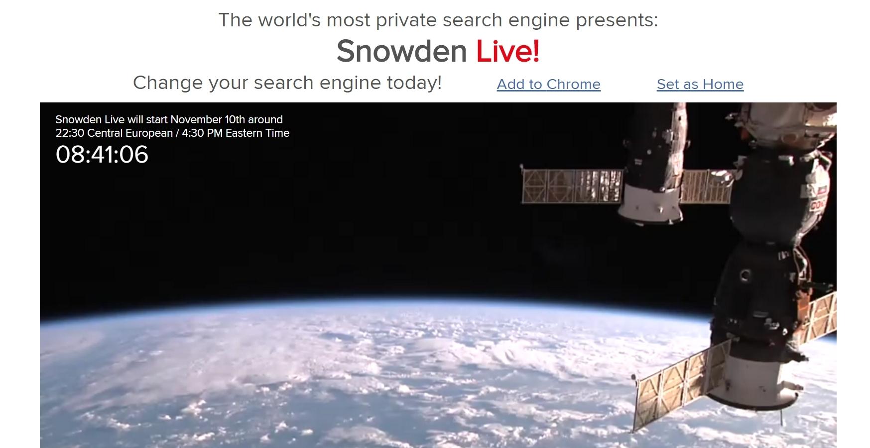 Photo of Edward Snowden discuta astazi despre Trump si securitate online