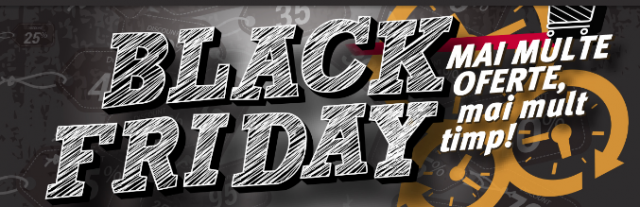 Lista produselor electronice si electrocasnice Black Friday la Altex