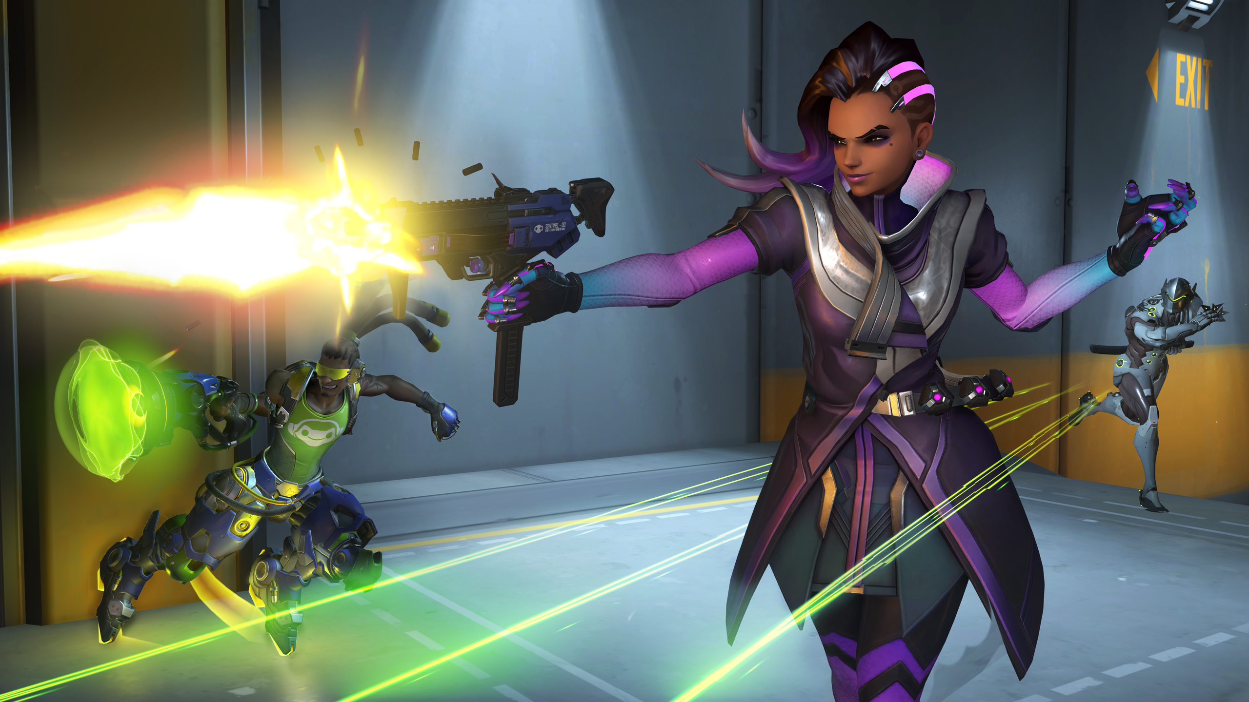 Photo of Sombra primeste un cinematic nou la Blizzcon 2016