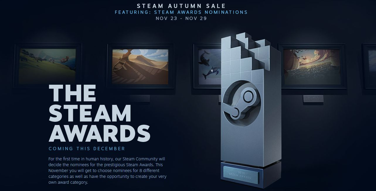 Photo of Valve anunță prima ediție a Steam Awards
