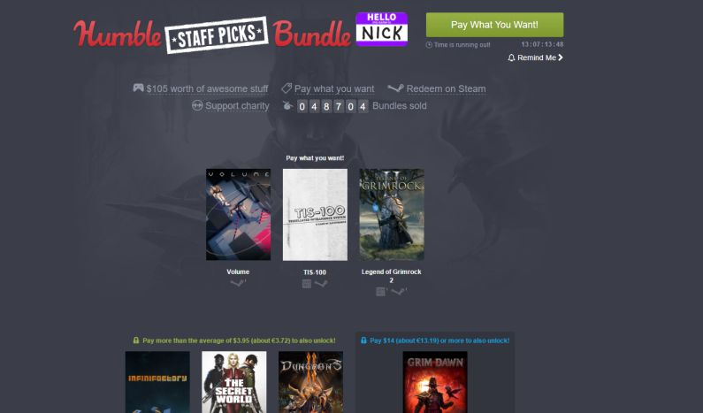 Photo of Humble Bundle are o nouă promoție