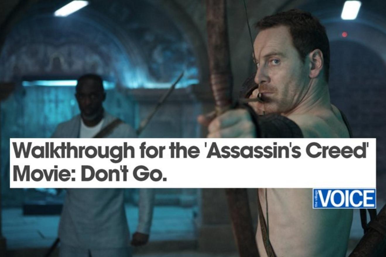 Photo of Cateva critici de film pentru Assassin's Creed care demoleaza ecranizarea
