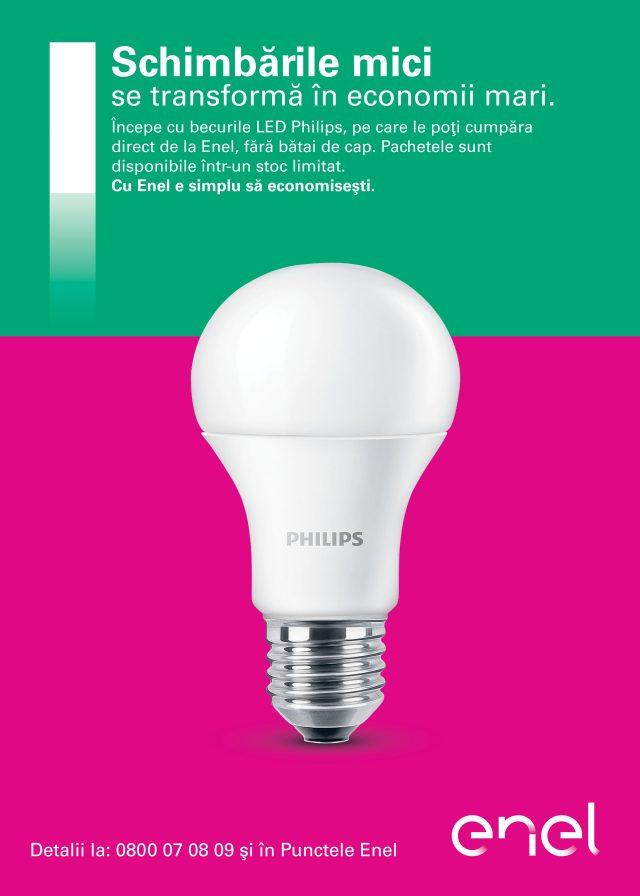 Photo of Philips Lighting încheie un parteneriat cu Enel pentru a ajuta clienții să își reducă consumul de energie
