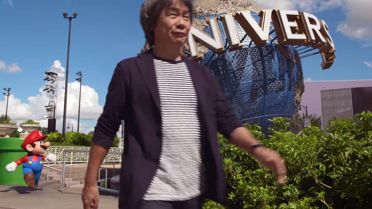 Photo of Mario ajunge într-un parc de distracții