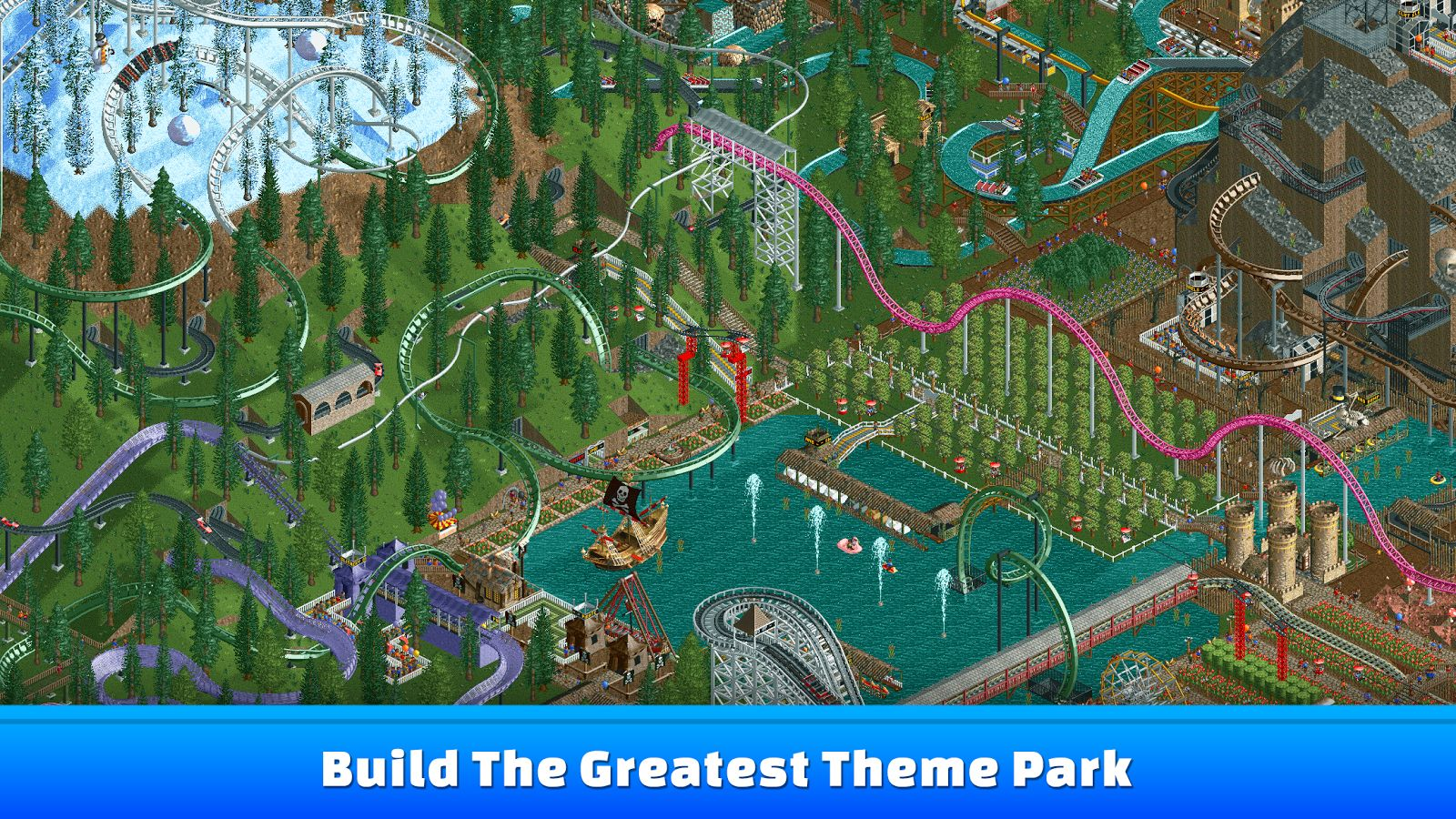 Photo of RollerCoaster Tycoon revine pe mobile așa cum se cuvine