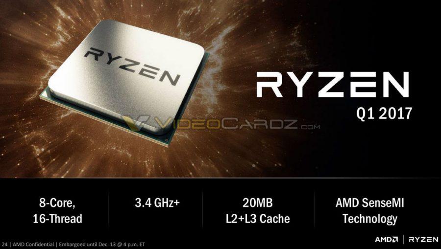 Photo of Procesorul AMD Ryzen a fost zărit înainte de anunț