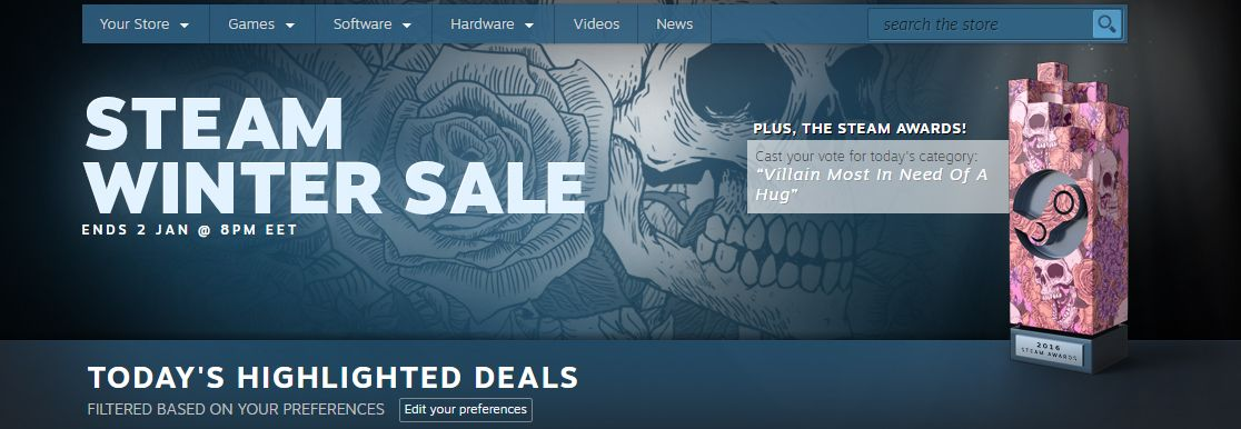 Photo of A început Steam Winter Sale 2016