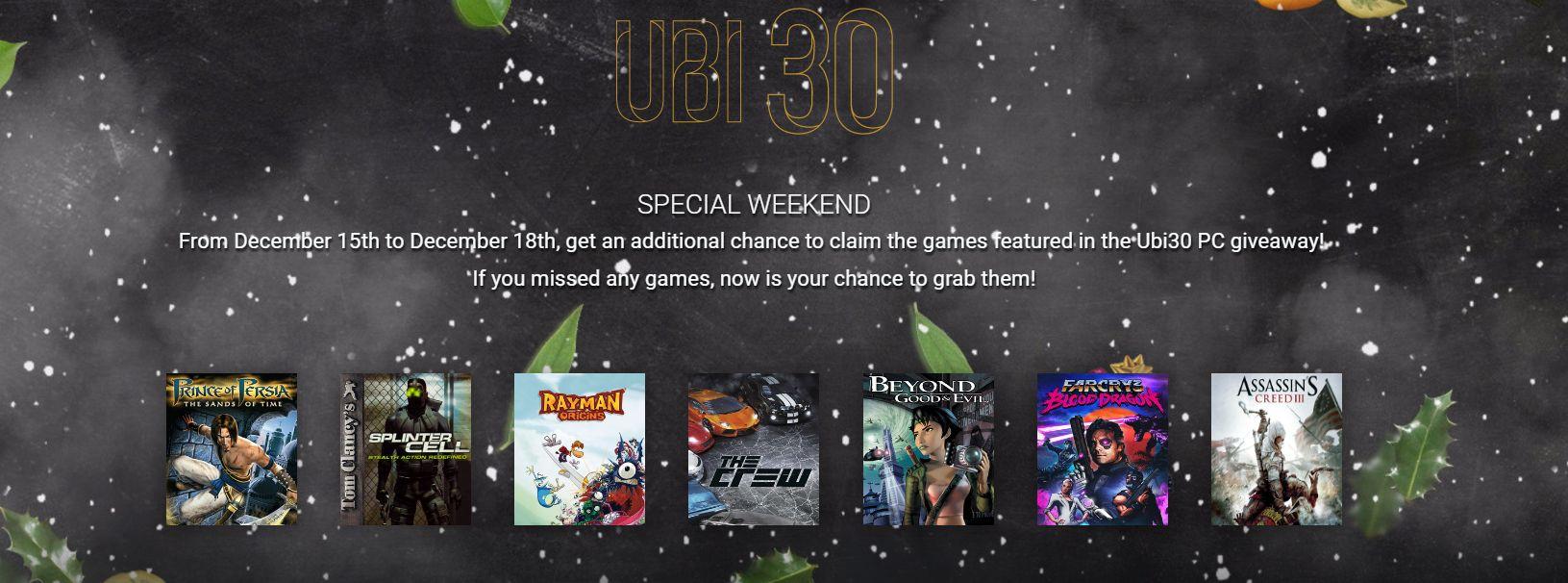 Photo of Jocurile aniversare Ubisoft sunt iarăși gratuite