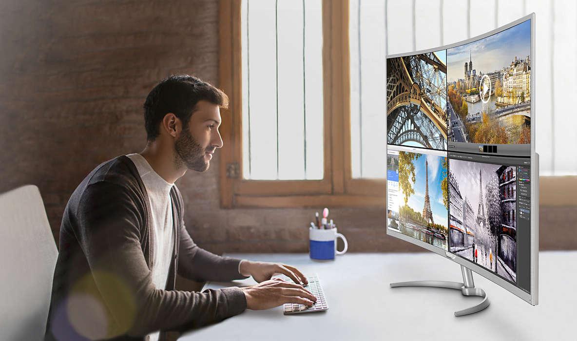 Photo of Philips lansează cel mai mare monitor 4K curbat de pe piață