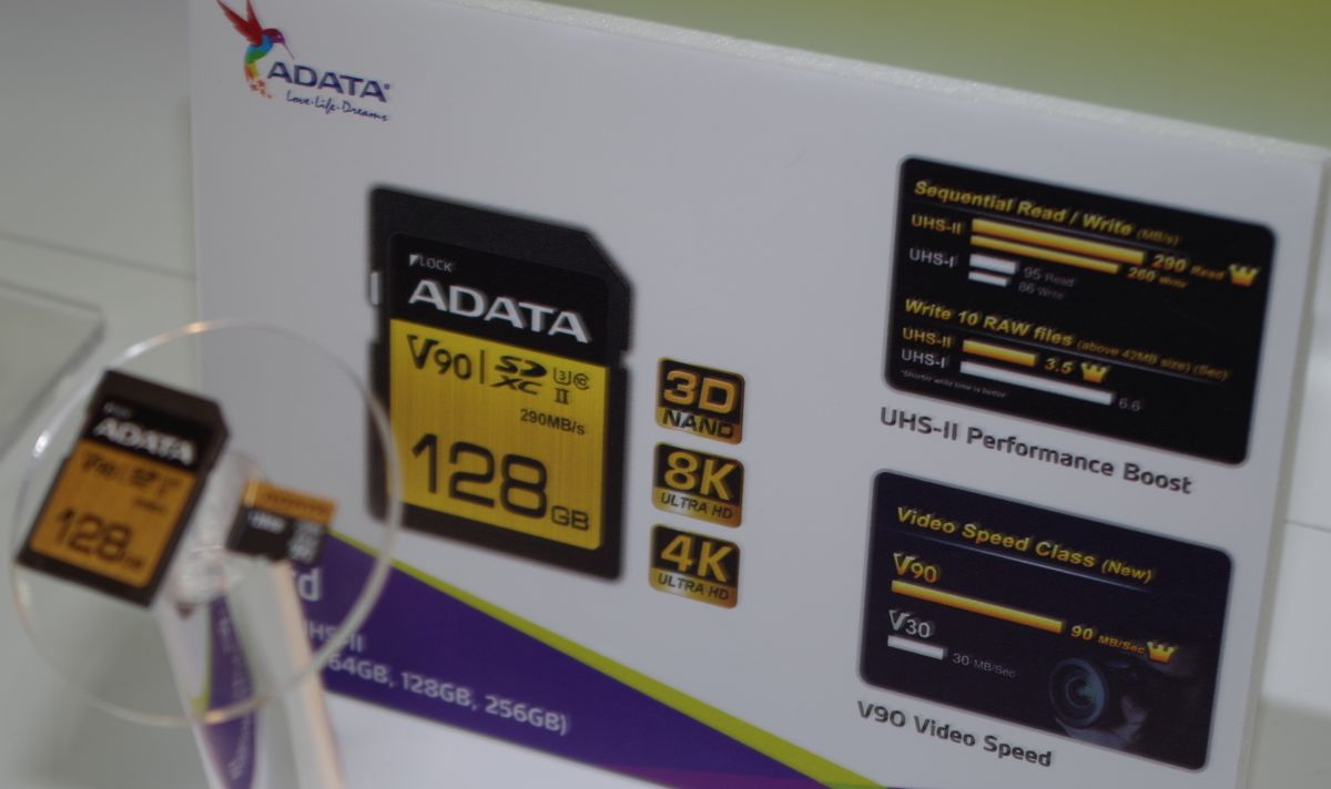 Photo of ADATA pregătește noi carduri SD care ating viteze de 260MB/s scriere