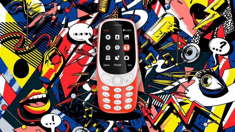 "Photo of Nokia 3310, ""updated"" nostalgia"