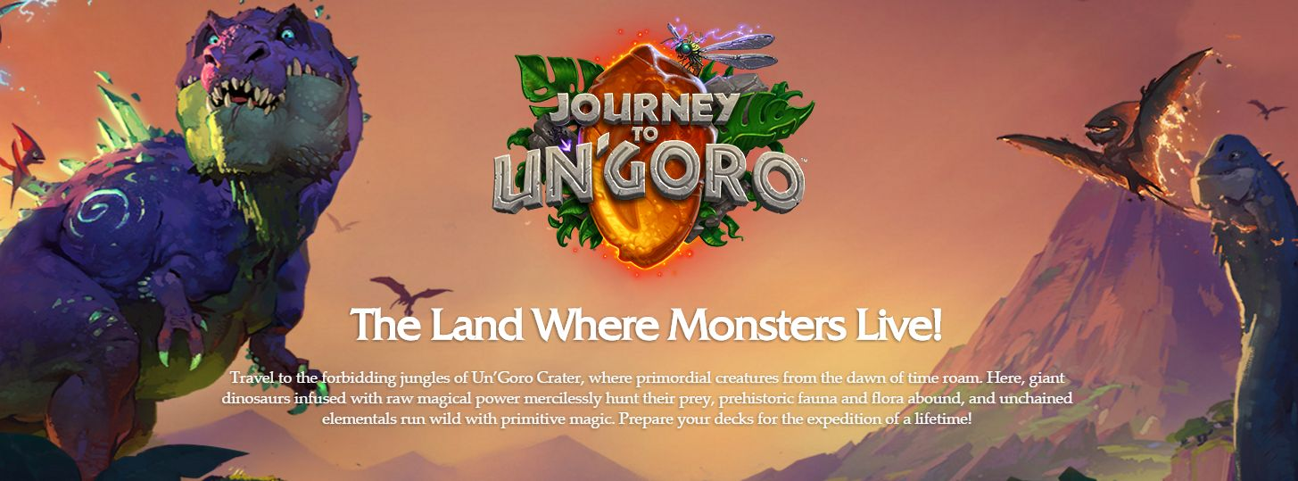 Photo of Hearthstone Journey to Un'Goro a fost lansat