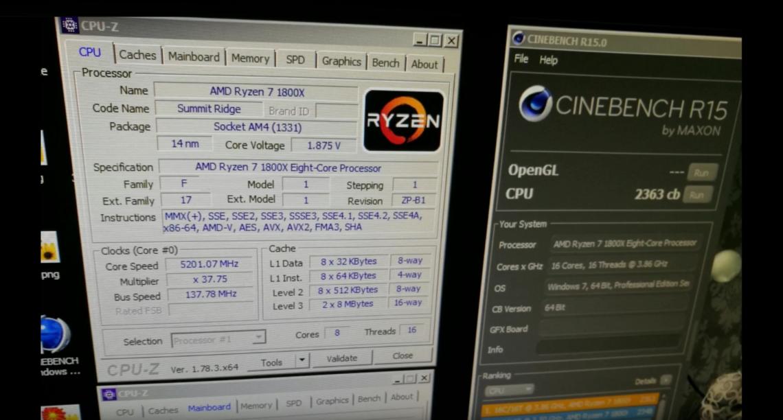 Photo of Un AMD R7 1800X a stabilit un record la Cinebench