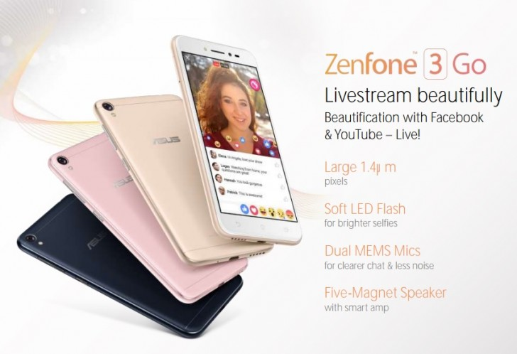 Photo of Asus Zenfone 3 Go a fost zărit