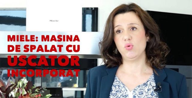 Miele a lansat România mașina de spălat rufe cu uscător încorporat și dozare automată a detergentului
