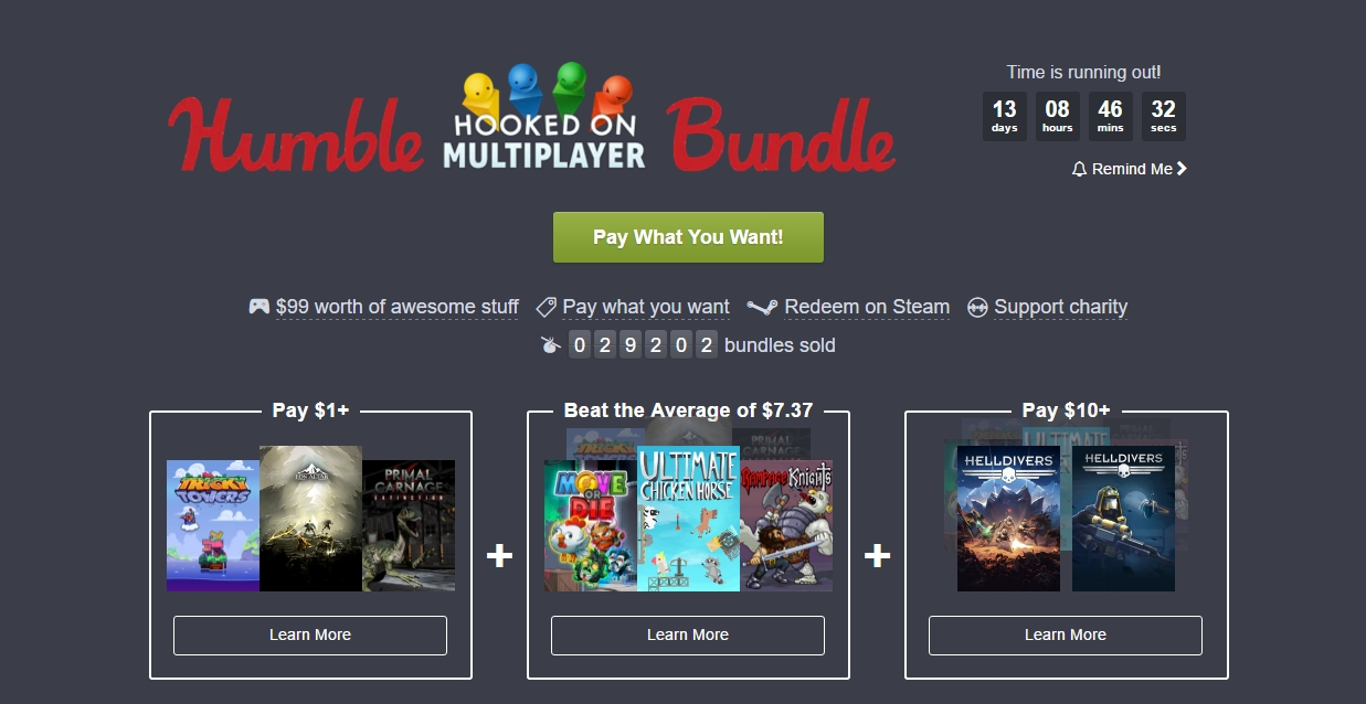 Photo of Humble Bundle revine cu jocuri de multiplayer