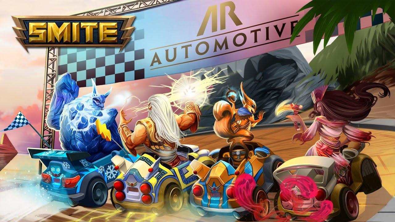 Photo of Hi-Rez Studios adauga un mod racing la SMITE pentru o perioada limitata