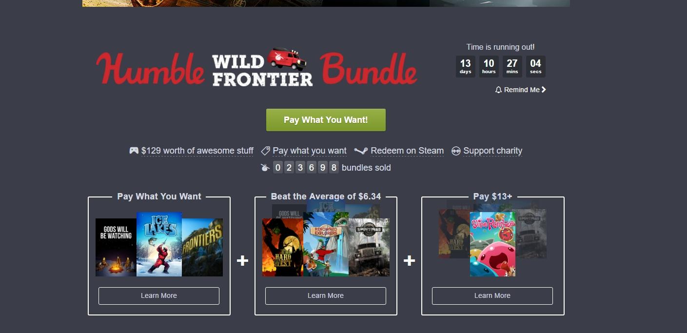 Photo of Humble Bundle revine cu jocuri despre cucerirea noilor frontiere