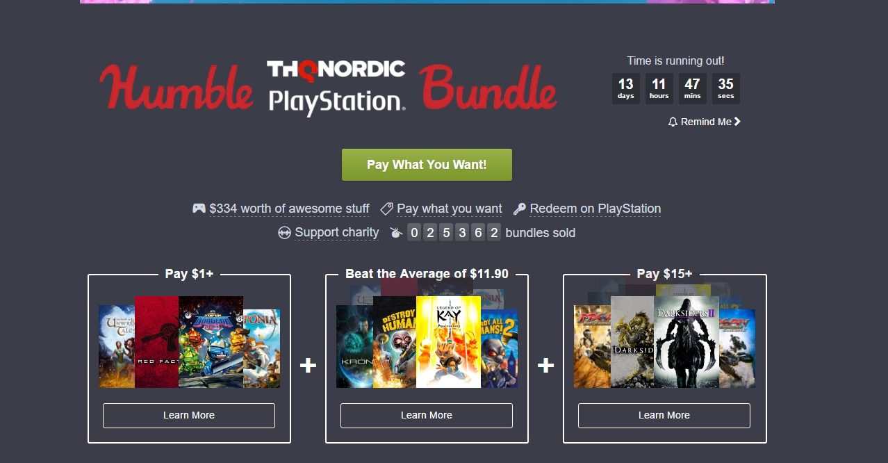 Photo of Humble Playstation Bundle