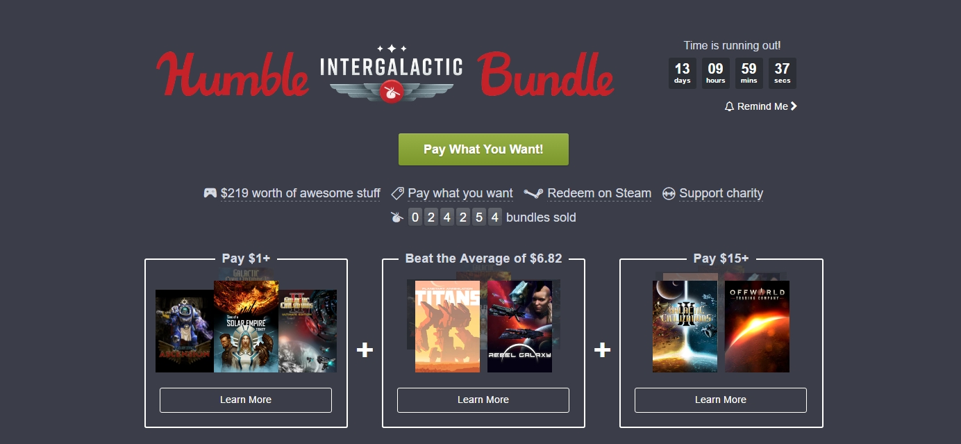 Photo of Humble Intergalactic Bundle aduce și un joc gratuit