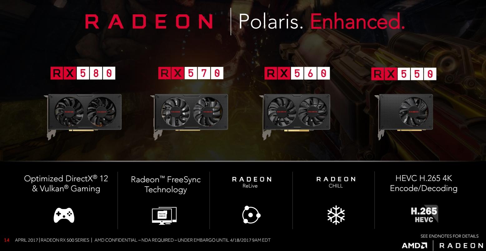 Photo of Seria Radeon RX 500 a fost lansată