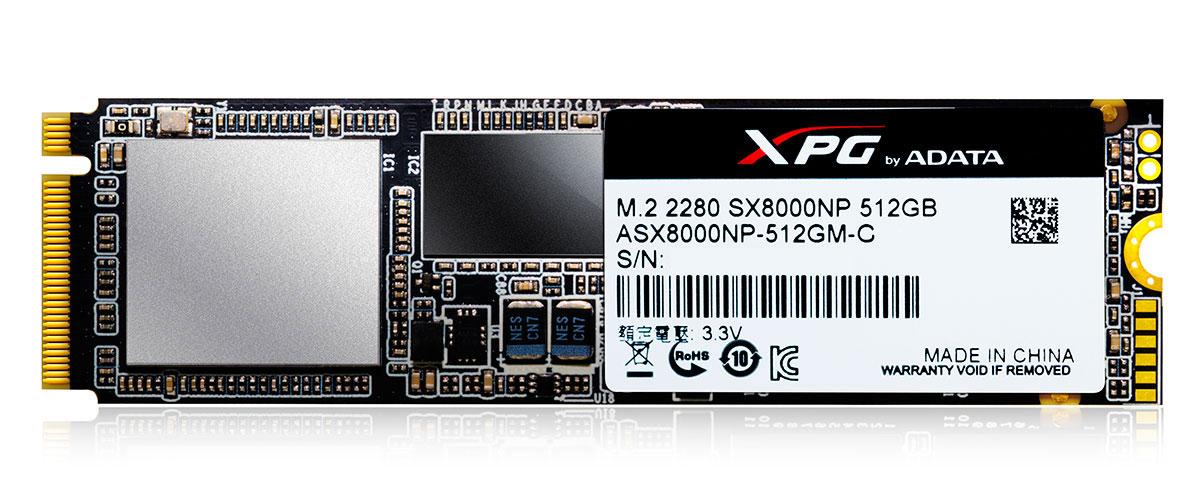 Photo of ADATA XPG SX8000 – 2GB/s si standard NVME la pret accesibil