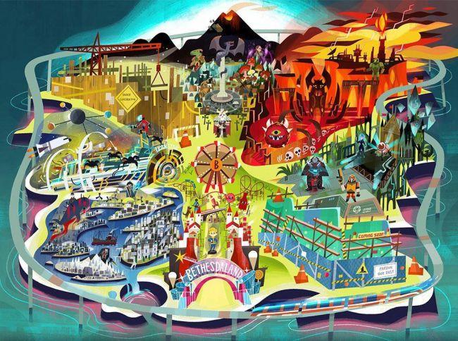 Photo of Bethesda s-ar putea sa vina cu doua IP noi la E3