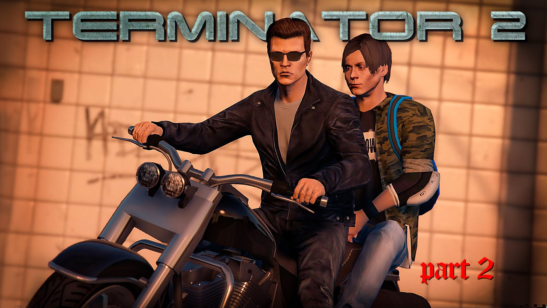Photo of Munca lui James Cameron din Terminator 2 recreata in GTA V