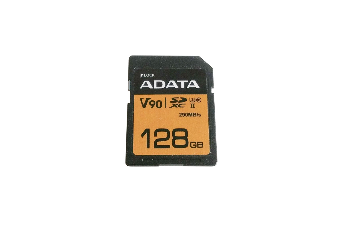 Photo of Review card SD ADATA V90 128GB 290MB/s!