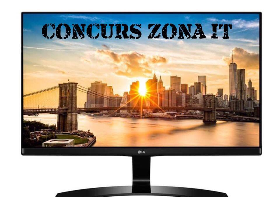 Photo of CONCURS ZONA:  Castiga un monitor LG 24MP68!