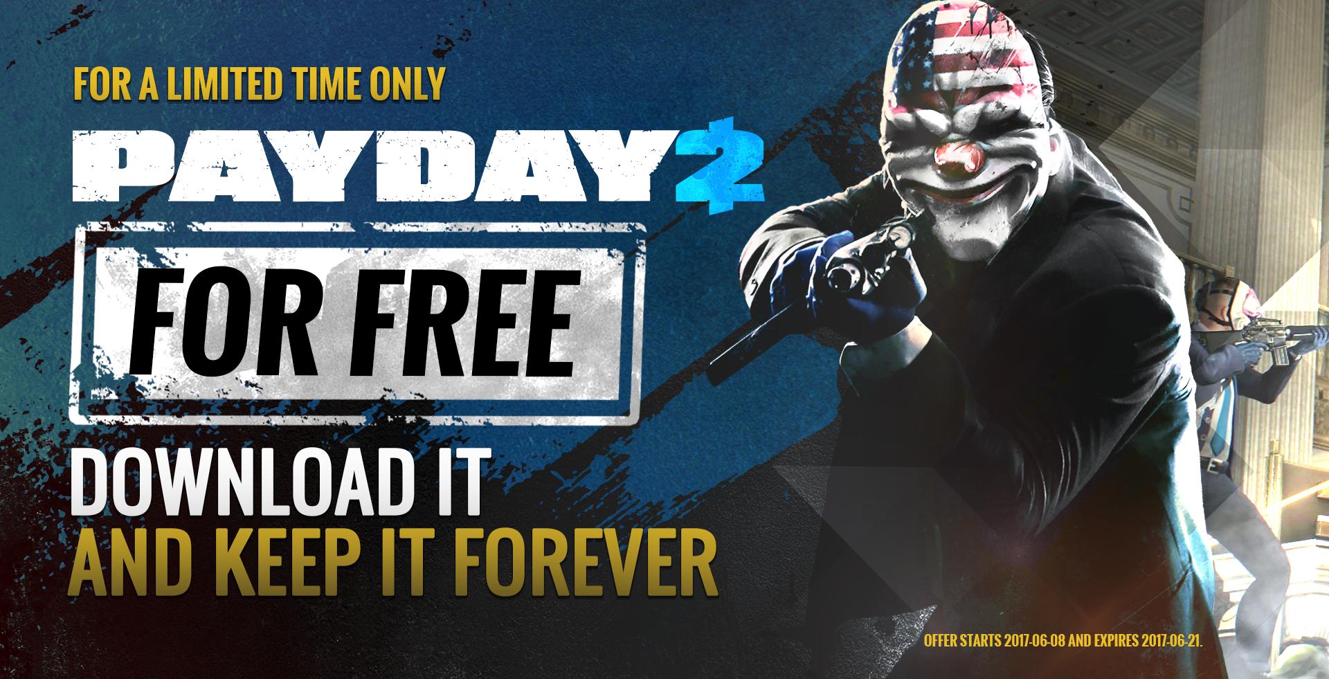 Photo of Payday 2 este gratuit, permanent