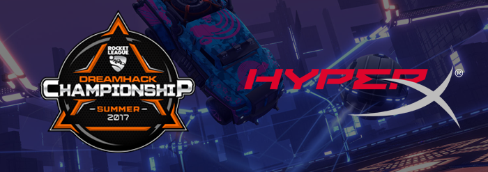 Photo of DreamHack și HyperX încheie un parteneriat pentru competițiile DreamHack Summer și Atlanta Rocket League Championship