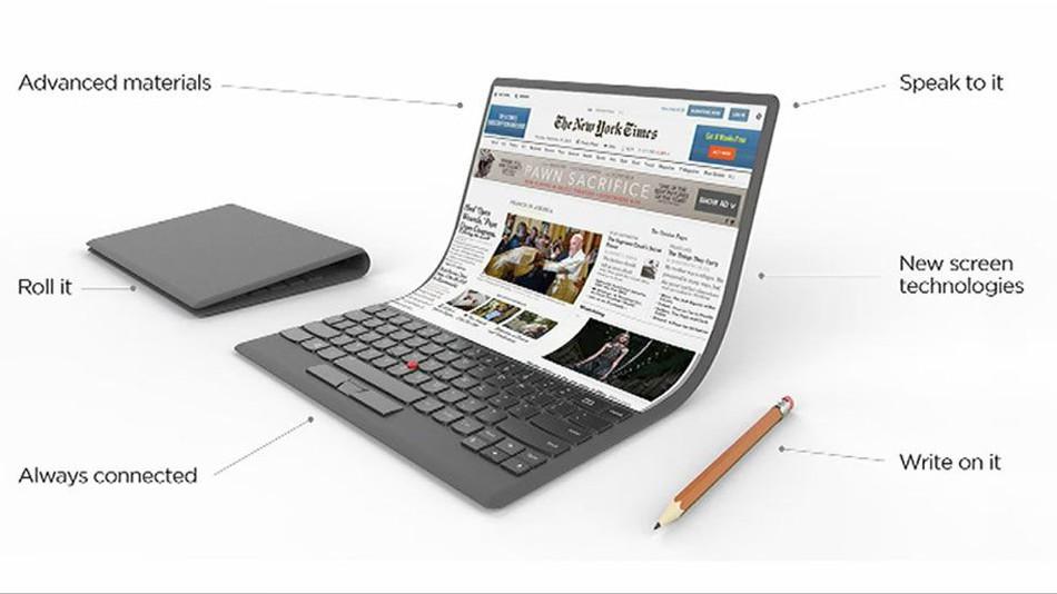 Photo of Lenovo a prezentat conceptul unui laptop care poate fi îndoit