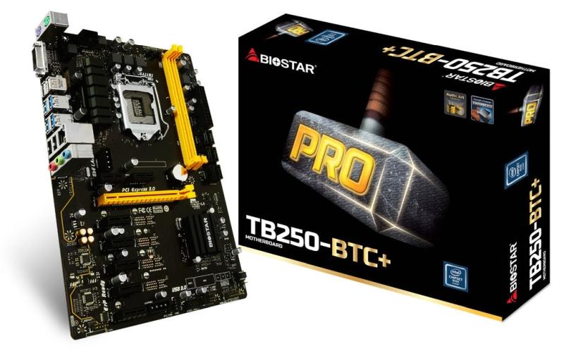 Photo of Biostar anunță prima placă de bază pentru minat cu 8 sloturi PCIe