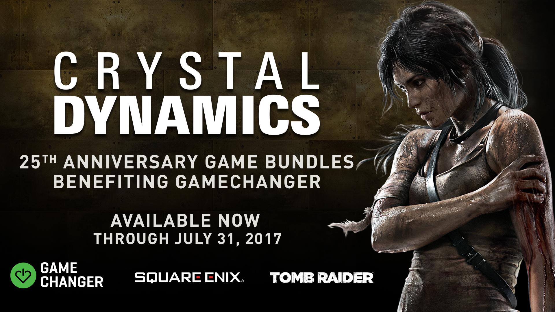 Photo of Crystal Dynamics împlinește 25 de ani și vă oferă jocuri foarte ieftine