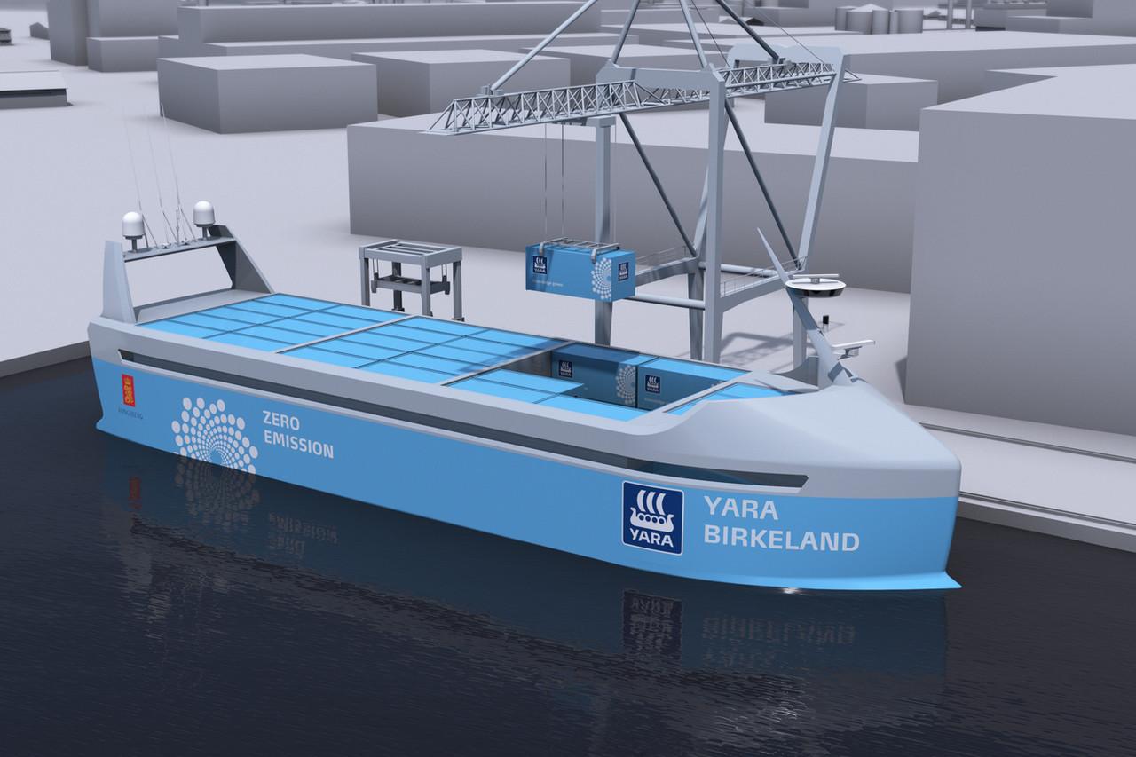 Photo of Yara Birkeland, prima navă complet automatizată va fi lansată la apă în 2018