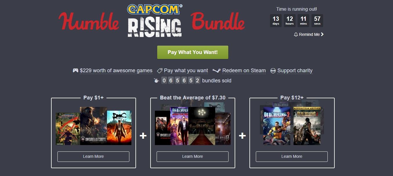 Photo of Humble Bundle ne aduce multe jocuri Capcom foarte ieftine