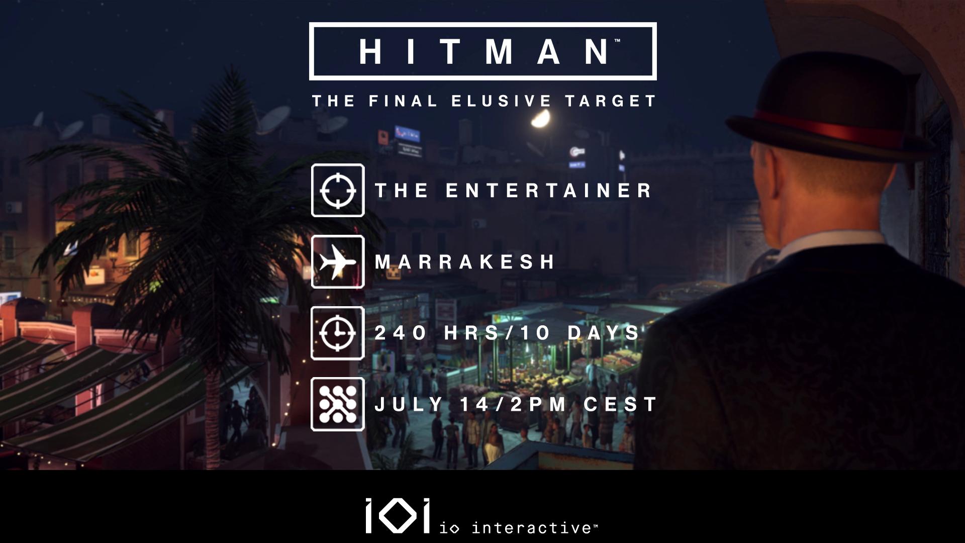 Photo of Ultima misiune Elusive Target sosește în Hitman