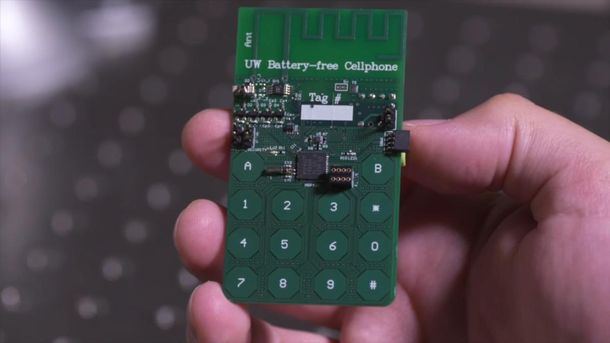 Photo of Acesta este telefonul mobil care funcționează fără baterie