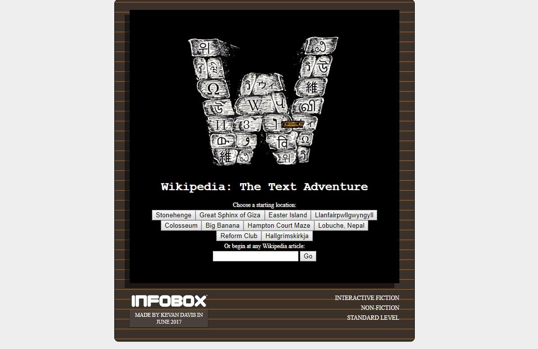 Photo of Wikipedia este acum un joc de aventură tradițional