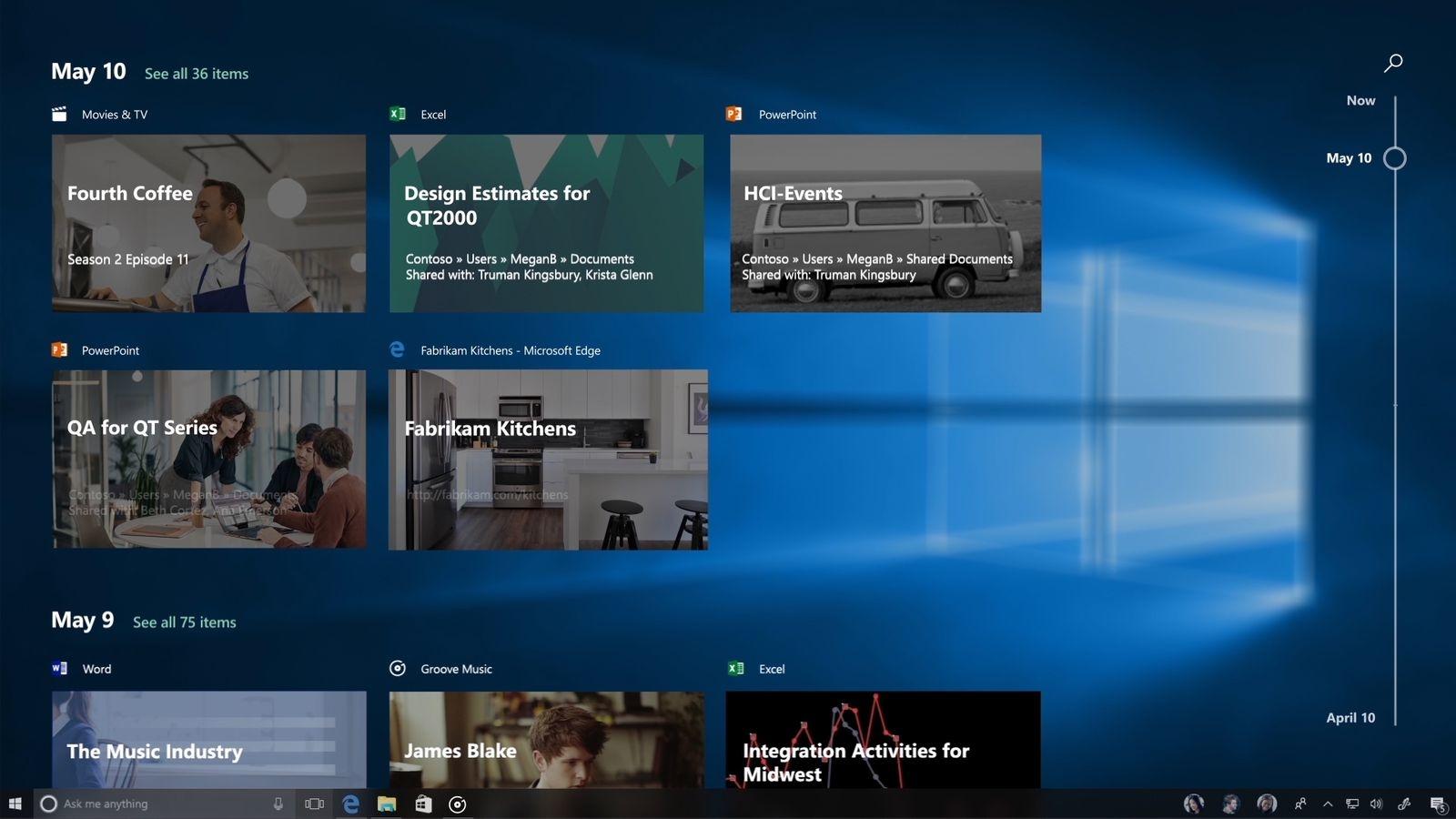 Photo of Funcția Timeline din Windows 10 nu va fi gata până la noul update major