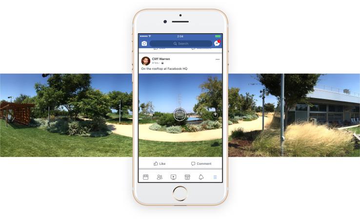 Photo of Acum poți face poze de 360 grade direct din Facebook