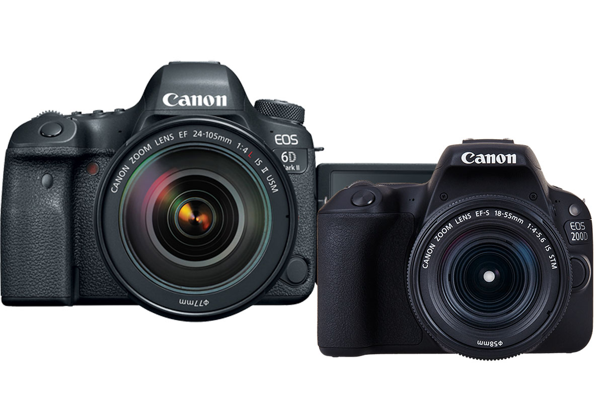 Photo of Canon 6D Mark 2 si Canon 200D Hands-On