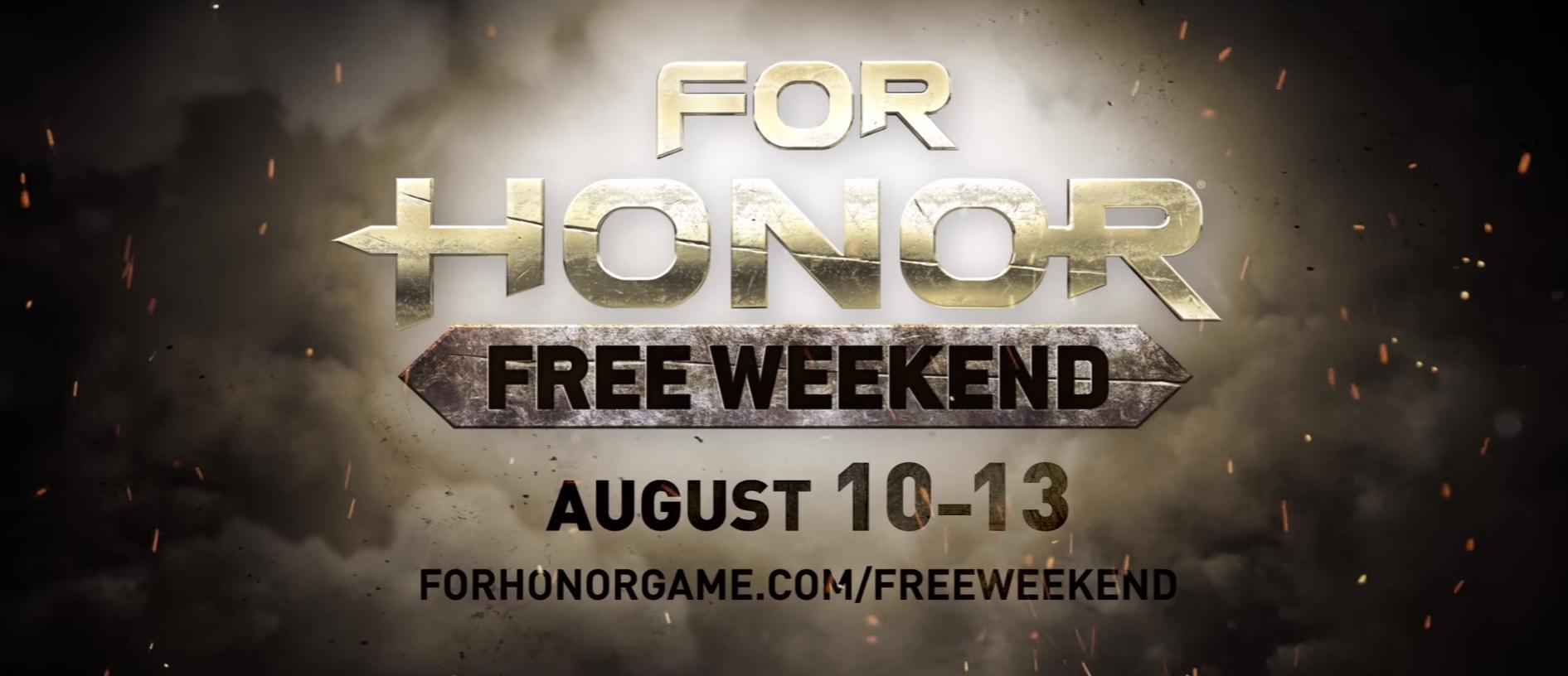 Photo of For Honor poate fi jucat gratuit în acest weekend
