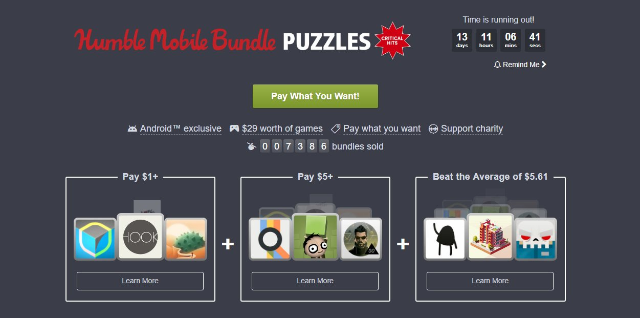 Photo of Humble Bundle revine cu jocuri de Android
