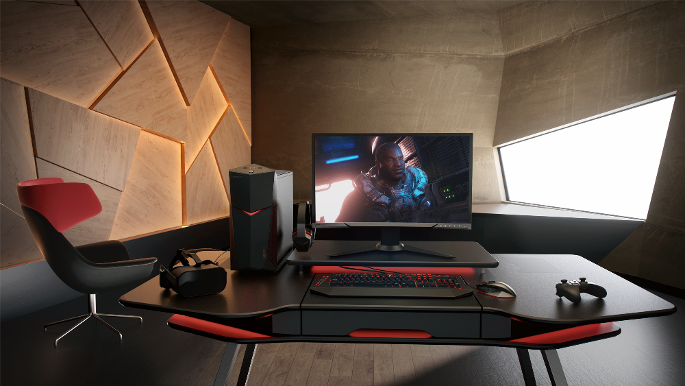 Photo of Lansari pe gaming de la Lenovo: noi desktop-uri si un monitor!